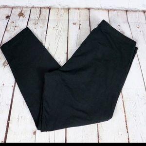 VS Sport Anytime Cotton Crop Leggings Black